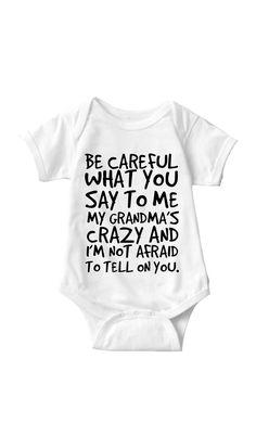 0e9802e31 Mimi Onesie Baby clothes and onesies. Love Happy Family Lifestyles ...