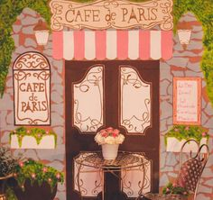 French / Parisian Sweet 16 Party Ideas | Photo 18 of 51 | Catch My Party