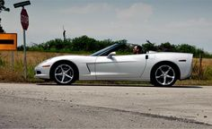 own a corvette, white..but I won't be too picky.....