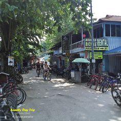 [Pulau Ubin] Bicycle rental stalls