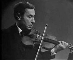 One of the most beautiful violin part ever written, JS Bach 'ciaccona' partita n°2, played live by genius Nathan Milstein