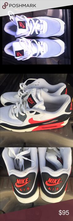 MENS AIRMAX 90 size 12 US Like new worn twice/ No box I DROPPED THE PRICE so current price is firm. Nike Shoes Athletic Shoes