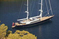 Sailing Yacht - Melek - Perini Navi - Completed Superyachts on Superyacht Times .com