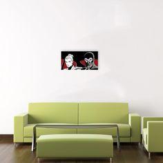 ASTORINA - In fuga (Diabolik & Eva) 100x50 cm #artprints #interior #design #art #print #cartoon  Scopri Descrizione e Prezzo http://www.artopweb.com/categorie/cartoni/EC20954