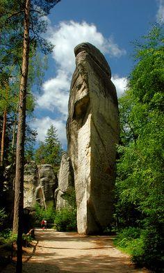 Sugar loaf in Rock City, Adrspach, Czech Republic Copyright: Ryszard Michalik