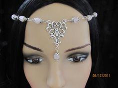 Wiccan Renaissance Medieval Circlet/Headpiece/Headdress/Tiara