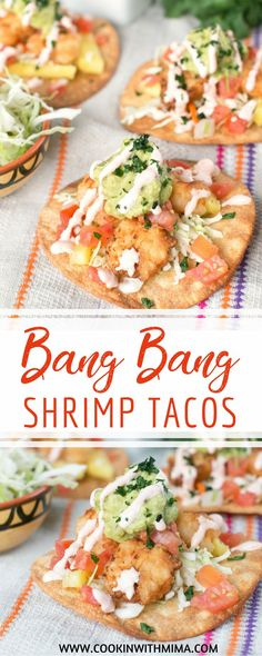 Bang Bang Shrimp Tacos | Taco Recipes | Seafood Recipes | Shrimp Recipes | Best Taco Recipe | Cookin With Mima | #bangbangshrimptacos #tacos #seafood #cookinwithmima