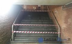 FOTO Latina Scalo, stazione nel degrado: scale chiuse e allagamenti