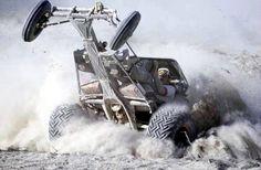 Sand drags - crazy shot