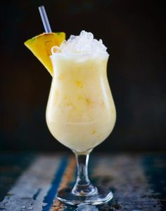 First made in Puerto Rico back in 1952, with this rum, pineapple and coconut cream cocktail in your hand all you'll be missing is the sand between your toes.