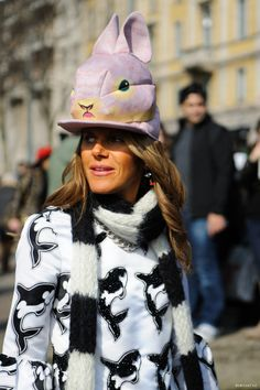 Zoo are you? #AnnaDelloRusso threatening to get the #Fashionpolice called on her. Or maybe I'm not just in on this one. #MFW