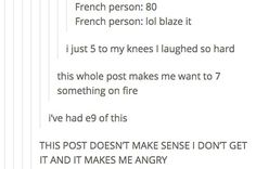 17 Hilarious Tumblr Posts For People Who Took French In School