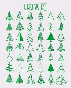 Christmas Tree doodling
