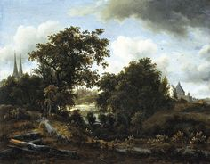 Meindert Hobbema - Landschap bij Deventer