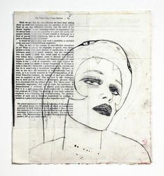 Gina Magid, The Voice That Keeps Silence, Ephemera, The Voice, Mixed Media, Artsy, Collage, Letters, Art Journals, Drawings, Artwork