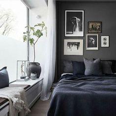 Dark Grey Bedroom Wall (15)