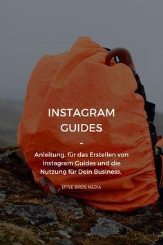 Hier findest Du eine Anleitung für die Einrichtung von Instagram Guides und ihre Verwendung für Dein Business. Instagram Feed, Social Media Marketing Business, Social Media, Social Networks, Education, Things To Do, Knowledge, Tutorials, Woman