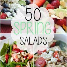 50 Spring Salads at @Jalyn {iheartnaptime.net}