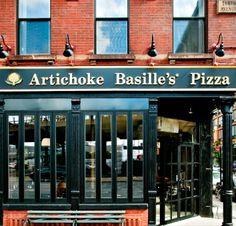 Best Pizza in NYC. Artichoke Basille's Pizza & Bar in Chelsea