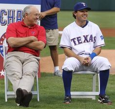 Nolan Ryan and Ian Kinsler. First Nolan leaves, then Ian. Once Nolan leaves all good things go out the window.
