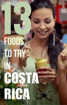 A BIG PART of breaking out of your routine and experiencing some place new is exploring the local cuisine. In the case of Costa Rica, you can't really go wrong — but here are some extra special items to keep an eye out for on your visit. Good list for the Costa Rica Travel, Costa Rica Reisen, Moving To Costa Rica, Costa Rico, San Jose Costa Rica, Puerto Rico, Costa Rica With Kids, Honduras, Viajes