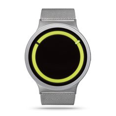 Buy your ZIIIRO Eclipse Metallic Chrome/Lemon® Watch from an authorised retailer with free worldwide delivery. October 2016 collection and 5% off your first order