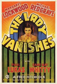 Alfred Hitchcock's The Lady Vanishes - a story on a train