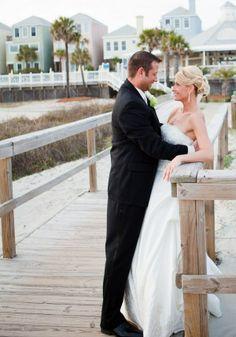 Charleston, SC Beach Wedding | Wild Dunes Wedding | Photo by Britt Lakin Photography