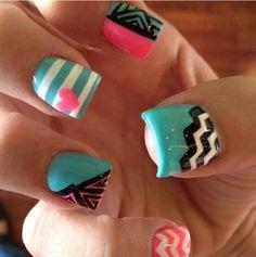 Cute nail design ideas.  | Pretty Woman Salon & Boutique | (618) 998-9139 |