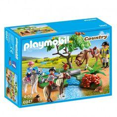 Playmobil - 6947 - Cavaliers + Poney et Cheval Play Mobile, Playmobil Country, Collection Playmobil, Poney Club, Custom Lps, Playmobil Sets, Walking Horse, Interactive Toys, Deep Sea Fishing