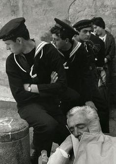 Herbert List, Vittorio de Sica #1 - Naples - 1961