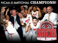 NCAA-II National Champions 2014 #UCM