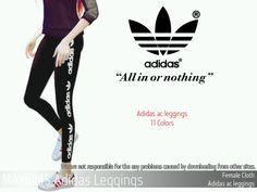 Mayims: May_TS4_adidas ac leggings