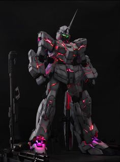 Painted Build: PG 1/60 RX-0 Unicorn Gundam with LED - Gundam Kits Collection News and Reviews