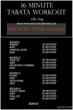 VISIT FOR MORE Tabata Workout with Amy Stafford at www.ahealthylifef The post Tabata Workout with Amy Stafford at www.ahealthylifef appeared first on fitness. Fitness Workouts, Yoga Fitness, At Home Workouts, Fitness Tips, Fitness Motivation, Health Fitness, Physical Fitness, Fitness Foods, Fitness Weightloss