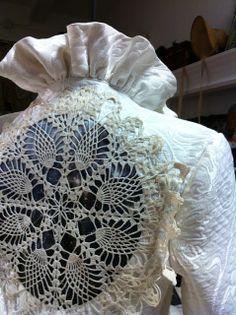 KathleenCrowleyCouture - Wedding Jacket collaboration - KathleenCrowleyCouture and Black Lotus Clothing