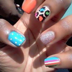 many nail art designs