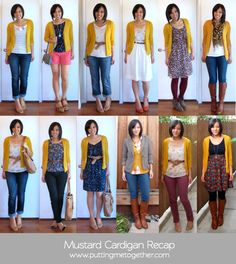 Recap: Mustard Cardigan Source by cardigan outfit Yellow Cardigan Outfits, Mustard Yellow Cardigan, Sweater Outfits, Mustard Cardigan Outfit, Maroon Pants Outfit, Winter Cardigan Outfit, Long Cardigan, Mode Outfits, Fall Outfits