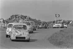 SAS Abarth's racing at Zandvoort