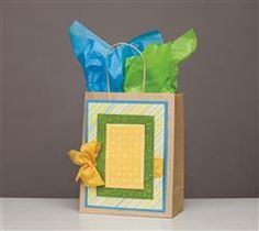 create this fun bag with your embossing folder!