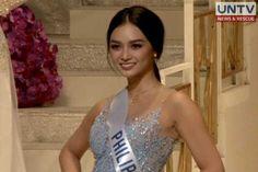 Filipina Kindergarten teacher wins Miss International 2016 Kylie Verzosa, Filipina Beauty, Blue Evening Gowns, Kindergarten Teachers, Beauty Pageant, Tokyo Japan, Asian Woman, Philippines, Thursday