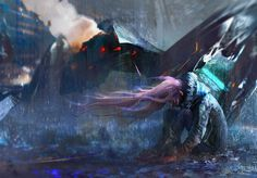 The last breath by pondoeon http://pondoeon.deviantart.com/art/The-last-breath-452545146