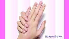 +25 wonderful nude nail art polish trendy designs ideas