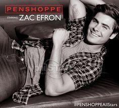 Zac Efron - photoshoot for Penshoppe