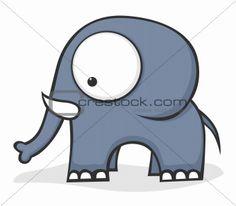 Image 4731951: Big-eyed elephant from Crestock Stock Photos