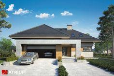 Projekt Cabernet - elewacja domu