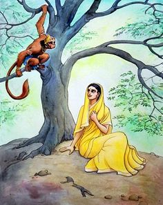 Hanuman has reached these places while looking for Mother Sita in ashokvatika Lord Rama Images, Hanuman Images, Hanuman Photos, Lord Hanuman Wallpapers, Shiva Wallpaper, Ram Wallpaper, Hanuman Chalisa, Krishna Art, Bal Krishna