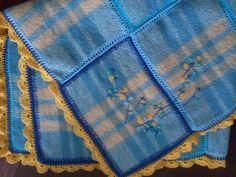van een oude deken
