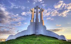 Amazing view - The Hill of Three Crosses, Vilnius    Vilnius, Lithuania  www.vilnius.com