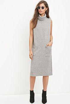 Turtleneck Midi Dress | Forever 21 - 2000157924
